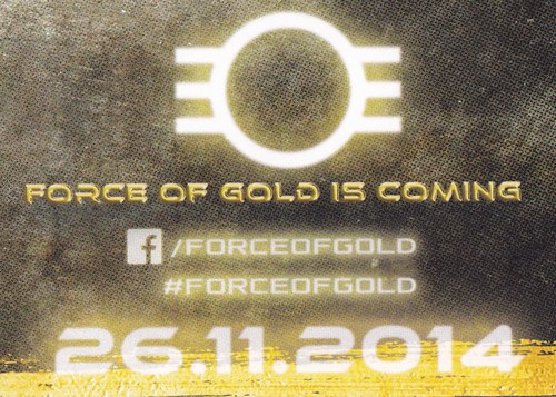 Curiosa - sticker force of gold (75K)